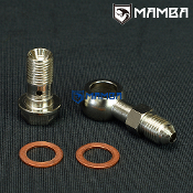 Banjo Bolt Kit 4AN to M12x1.25 Factory RB25DET 1.0mm Restrictor