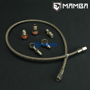 Mamba Turbo Oil Feed Line Kit VOLVO 740 940 960 TD04H-13C