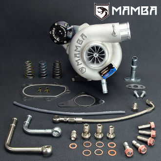 MAMBA Bolt-On Ball Bearing Turbo Subaru WRX GTX3071R GC GD .49