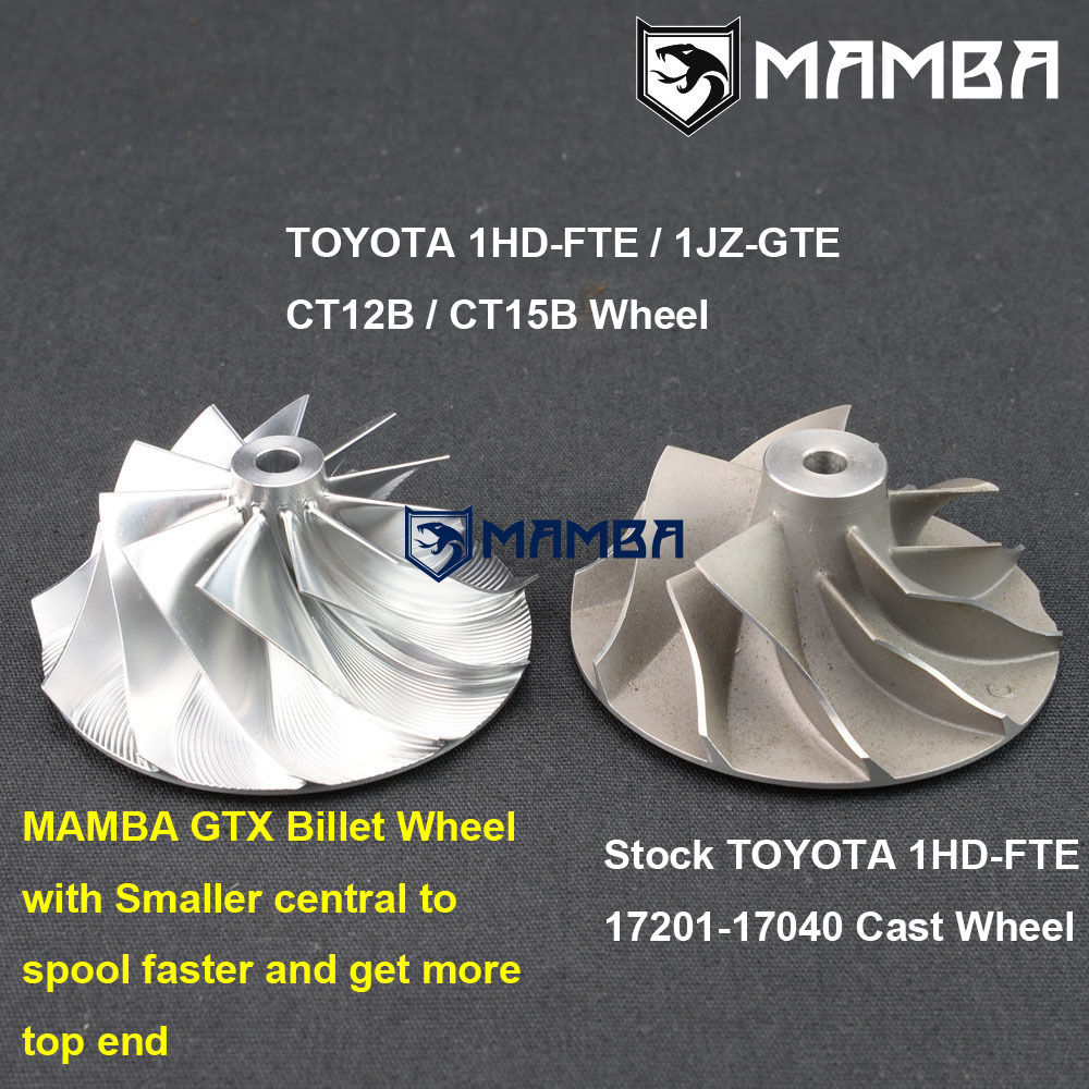 MAMBA Billet GTX Turbo CHRA TOYOTA CT12B 1HD-FTE 17201-17040
