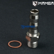 "water barb fitting Kit M14x1.5 to 1/2"" Barb TD05H GT28R (1 Set)"