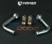 "Turbo water  Kit 90 Degree M14x1.5 1/2"" Barb TD05H TD06 GT28 30R"
