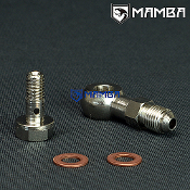 Banjo Bolt Kit 4AN to M8x1.25 HT06 RHF3 RHB3 1.5mm Restrictor