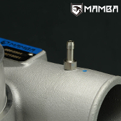 "M6x1.0 to 3/16"" barb nipple fitting for Turbo compressor housing"