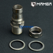 "DIY turbo oil return adapter fitting 3/4""  (OD 20mm) no welding"