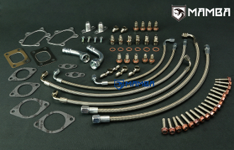 Turbo Install Kit Nissan RB26DETT SKYLINE w/ Twin Factory TB25