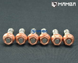 Turbo Turbine housing Exhaust stud 40mm M10x1.5mm SCM440 (6sets)