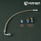 Turbo Oil Feed Line Kit For SAAB 900 900E B204 w/ Garrett T25
