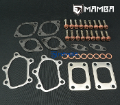 Nissan RB26DETT GT-R Skyline Twin Factory TB25 Turbo Gasket+Stud