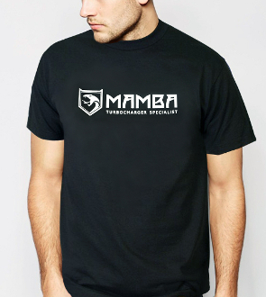 MAMBA Turbo T-Shirt (Black)