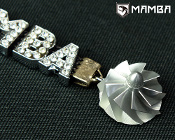 MAMBA Billet Compressor Wheel Key Ring