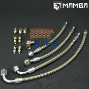 6A13TT Galant Legnum VR4 TD03 Twin Turbo Water Line Hose Kit