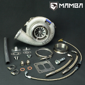 "MAMBA Ball Bearing 5"" GTX4502R Turbo + 1.01 T4 Twin Scroll 1150P"
