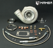 "MAMBA BB Turbo 4"" .70 Twisted AS GT3582R w/ .61 T3 V-Band Hsg"