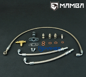 Turbo Oil & Water Line TD04 15T 19T M10x1.5 oil & M12x1.25 Water