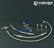 Turbo Oil & Water Line TD04 13T 15T 19T M10x1.25 oil & M12x1.25