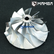 6+6 Turbo Billet Compressor Wheel Mitsubishi TD04 TD04HL GTX2863R 47.1//63.4 mm