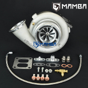 "MAMBA Ball Bearing 5"" GTX4202R Turbo + 1.22 T4 Twin Scroll 1150P"