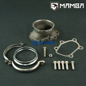 "5 bolt to 3"" V-band Dump Pipe Flange Nissan GT-R RB26DETT TB25"