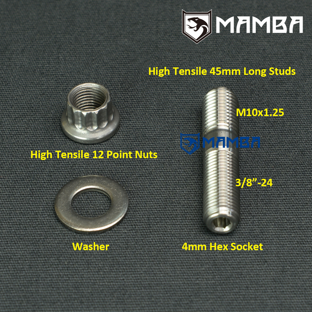OES Genuine Exhaust Manifold Stud and Nut