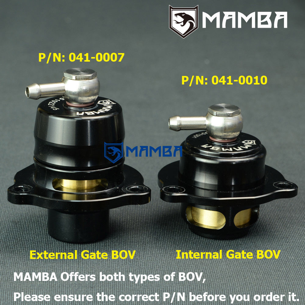 MAMBA Plumb Back Ford Porsche Volvo KKK turbo diverter ByPass Blow off Valve